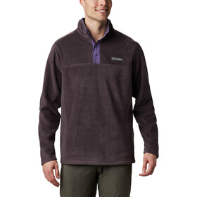 Columbia Steens Mountain Suéter Botones Clip Hombre, dark purple/soft purple
